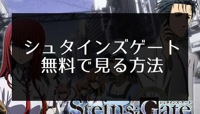 シュタイン ズ ゲート アニメ 無料